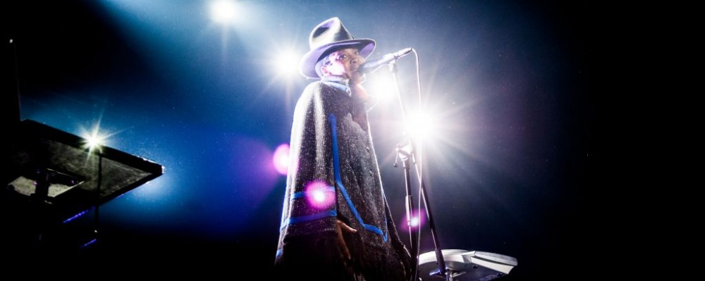 Erykah Badu performing at Arena Club in Moscow, Russia © Yulia Grigoryeva | Dreamstime 32889240
