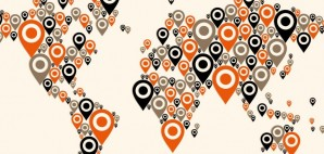 GPS location map icon pin © Cienpiesnf | Dreamstime 29196740