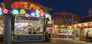 Morey's Pier on the Wildwood Boardwalk, New Jersey © Judith Bicking | Dreamstime 45538490