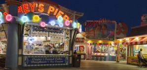 Morey's Pier on the Wildwood Boardwalk, New Jersey © Judith Bicking | Dreamstime 45538490