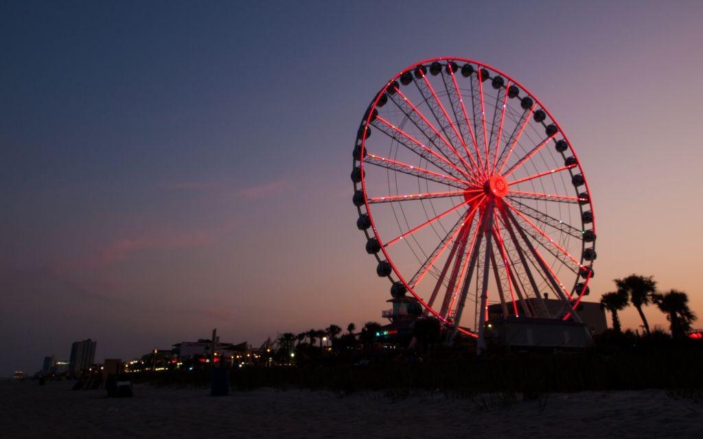 Myrtle Beach Skywheel, South Carolina © Arinahabich08   Dreamstime 42072724