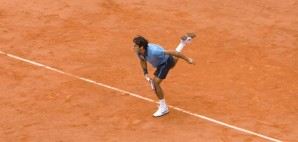 Roger Federer in the 2009 Roland Garros, French Open Finals in Paris, France © Konstik | Dreamstime 10428985