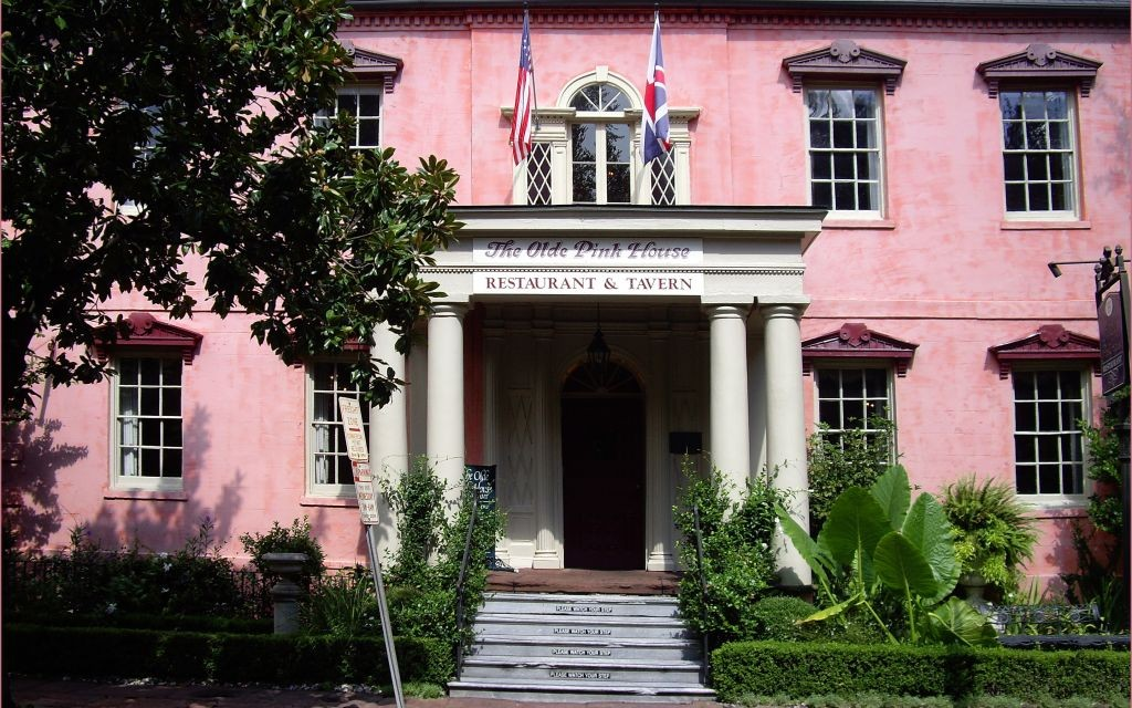 The Olde Pink House, Savannah, Georgia © Ron Cogswell | Flickr