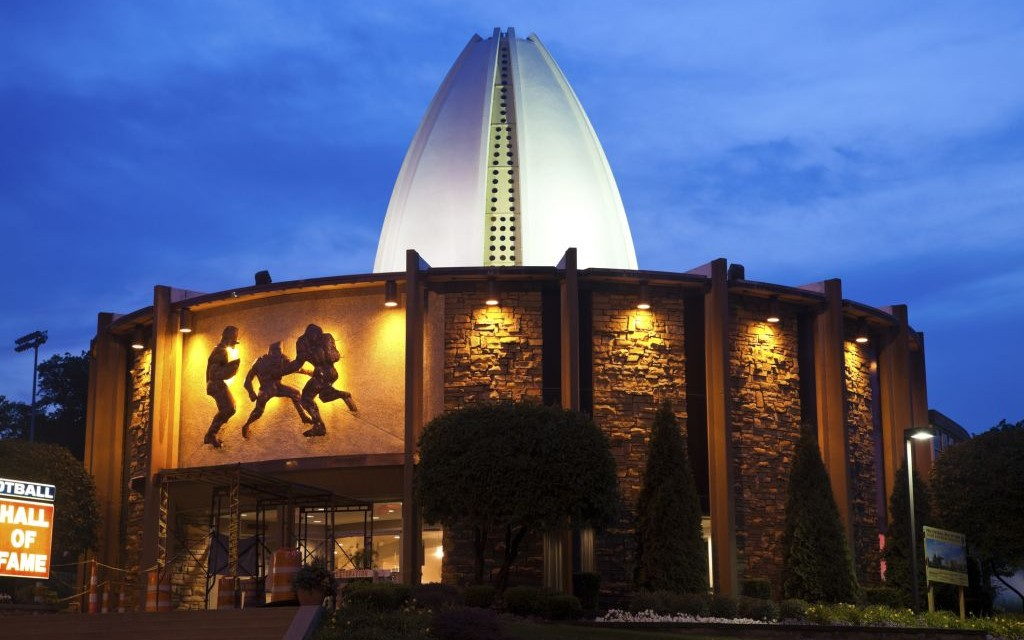 The Pro Football Hall of Fame in Canton, Ohio © Benkrut | Dreamstime 20614894