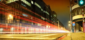 Urban city road car light trail © Paulgrecaud | Dreamstime 22840395