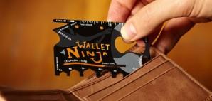 Wallet tool card multitool © Wallet Ninja