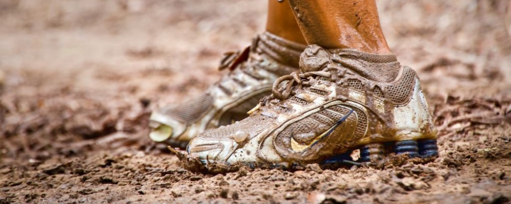 mud race feet shoes dirt runner © Leerobin | Dreamstime 26640884