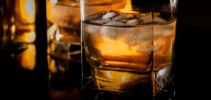 Bourbon Glass with Ice © Stockfotocz   Dreamstime 49888566