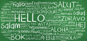 Hello languages © Ayse Ezgi Icmeli | Dreamstime 46644241