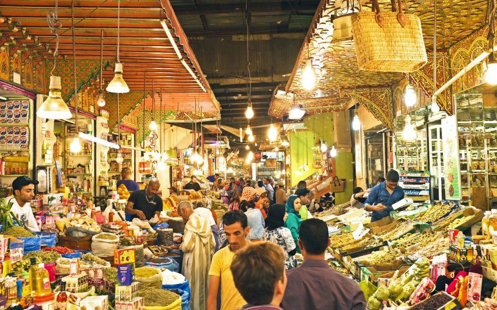 Medina Street Market of Fes, Morocco © Devy   Dreamstime 38126180