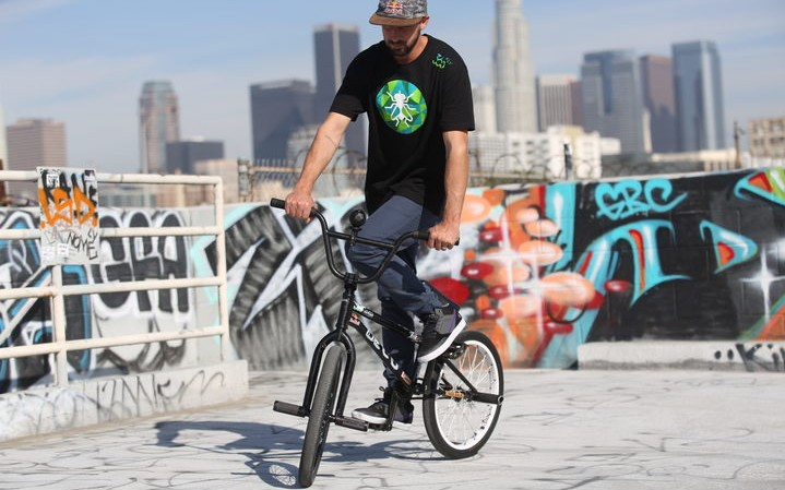 BMX Rider Terry Adams © 360fly