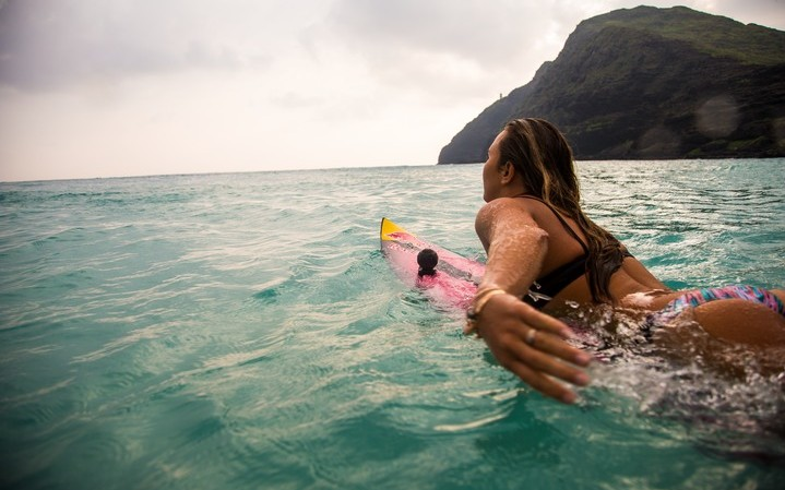 360fly Athlete Pro Surfer Carissa Moore1 © 360fly