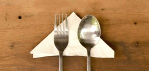 Dining Table Silverware Napkin © Adrea Kristatiani | Dreamstime 49517630