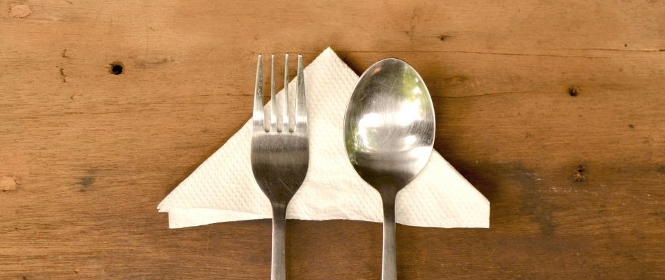 Dining Table Silverware Napkin © Adrea Kristatiani | Dreamstime 49517630
