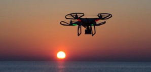 Drone Sunset Beach © Jborzicchi | Dreamstime 46217765