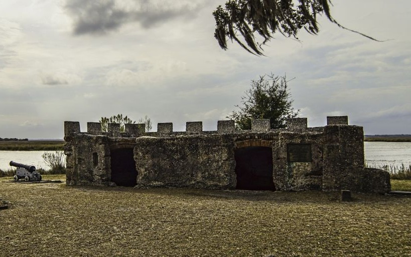Fort Frederika, Georgia © Htmccann | Dreamstime 50440698