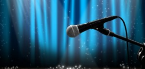 Microphone Stage © Alphaspirit | Dreamstime 19968432