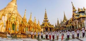 Shwedagon Pagoda, Yangon, Myanmar © Tinnaporn | Dreamstime 44732388