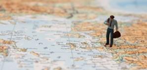 Traveler on Map © Foodlove | Dreamstime 54562887