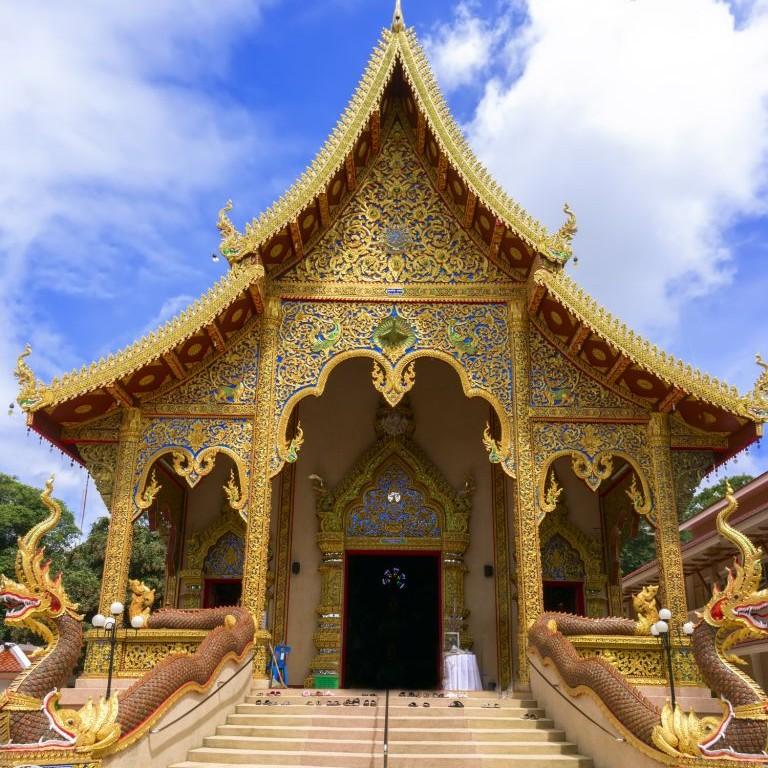 Wat Sriboonruang, Thailand © Nikolay Grachev | Dreamstime 43980948
