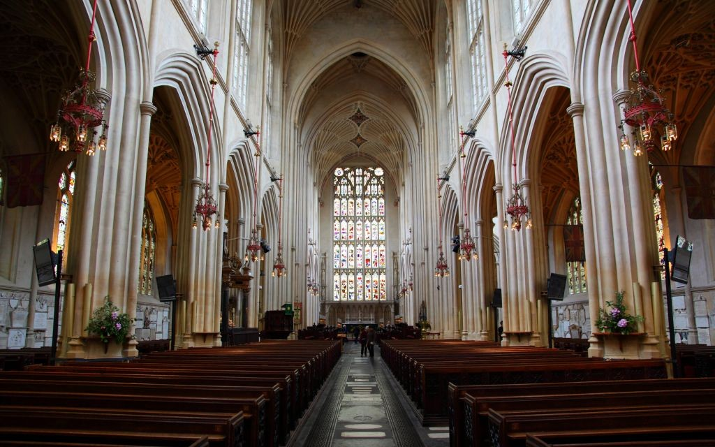 Bath Abbey in Somerset, England © Mark Eastment   Dreamstime 8517825
