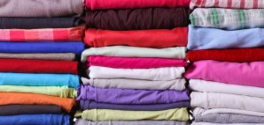Clothing Stacks Folded © Merkushev | Dreamstime 39927012