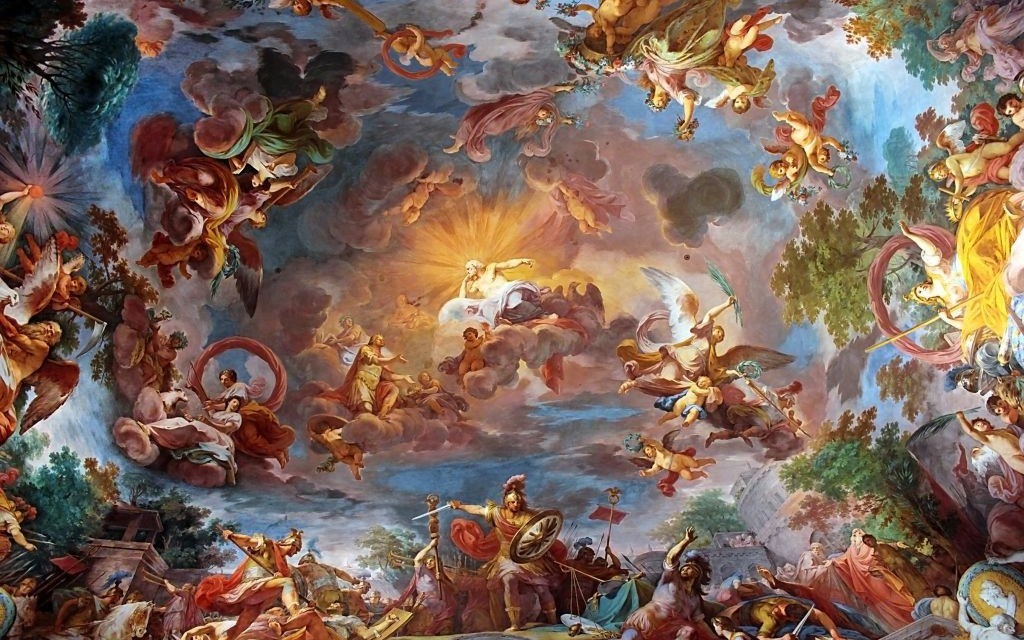 Ceiling of the Villa Borghese, Rome © Alexirina27000 | Dreamstime