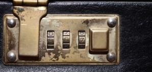 Combination Briefcase Lock © Ensuper | Dreamstime 49802414
