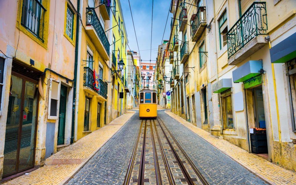 Old Town Street Car of Lisbon, Portugal © Sean Pavone | Dreamstime 51762303