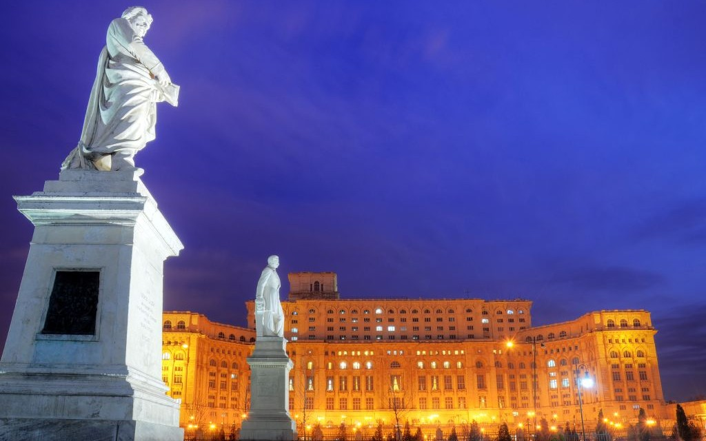 Palace of Parliamanet, Bucharest, Romania © Bogdan Carstina   Dreamstime 18888035