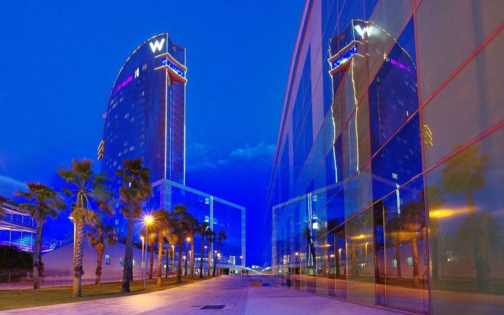 Trazee travel the w hotel barcelona trazee travel - Salt w barcelona ...