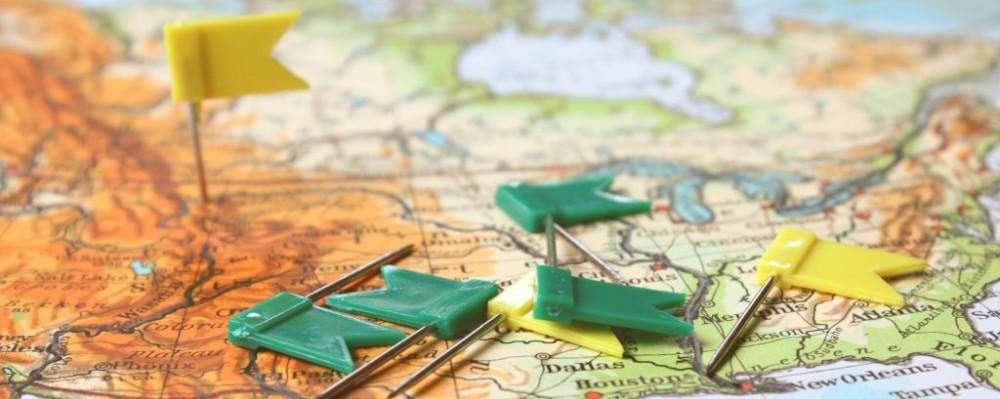 travel planning map foodlove dreamstime 49663834