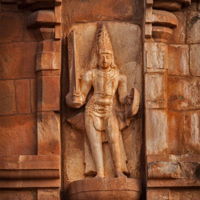 Brihadeeswarar Temple, Tamil Nadu, India © Dmitry Rukhlenko | Dreamstime 34113722