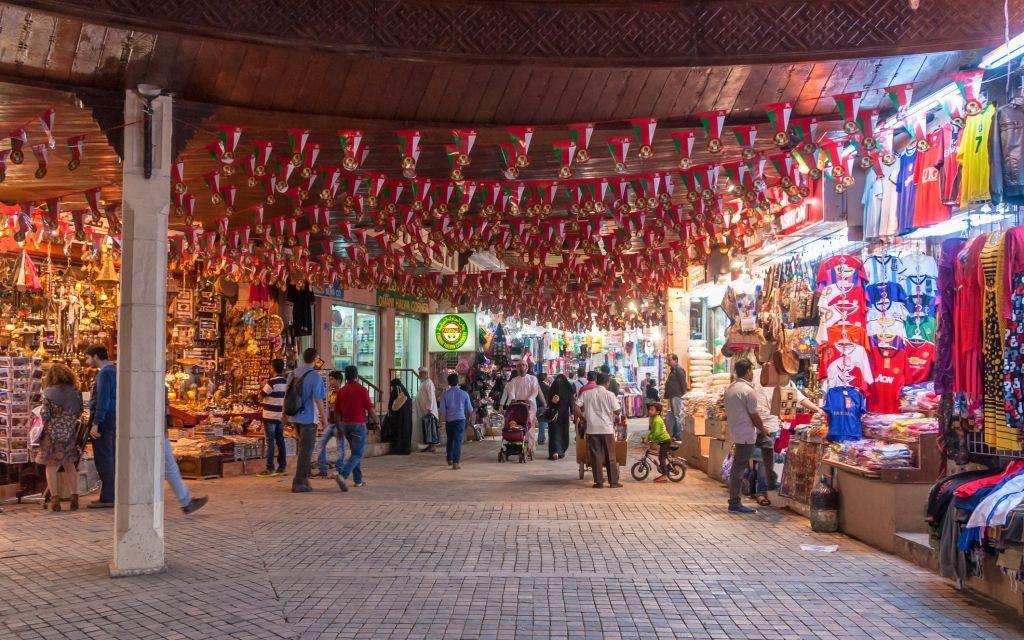 Mutrah Souq, Muscat, Oman © Imrandr | Dreamstime 52681411