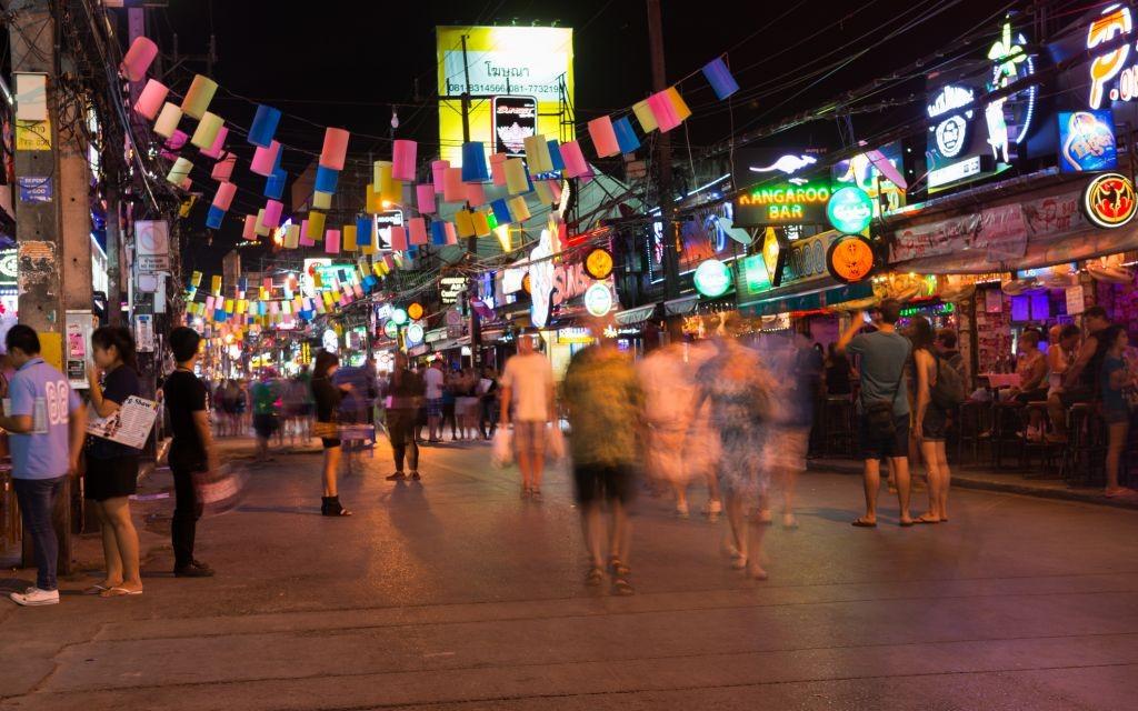Patong Bangla Road, Phuket, Thailand © Iryna Rasko | Dreamstime 29461966