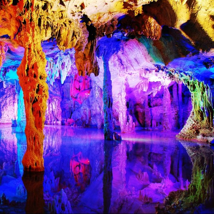 Reed Flute Cave, Guilin, China © Mega5329 | Dreamstime 7876762