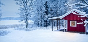 Winter Cabin © Addimaging | Dreamstime 58855576