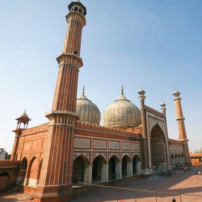 Jama Masjid, Old Delhi, India © Paul Prescott | Dreamstime 14014124