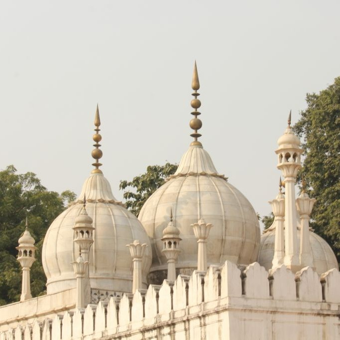 Moti Masjid, Bhopal, India © Greta Gabaglio | Dreamstime 47600036