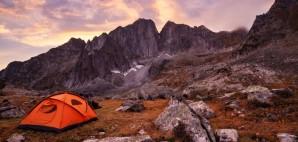 Mountain Camping © Stas Tolstnev | Dreamstime 44783856