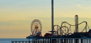 Pleasure Pier, Galveston, Texas © Angela Brackin   Dreamstime 51949773