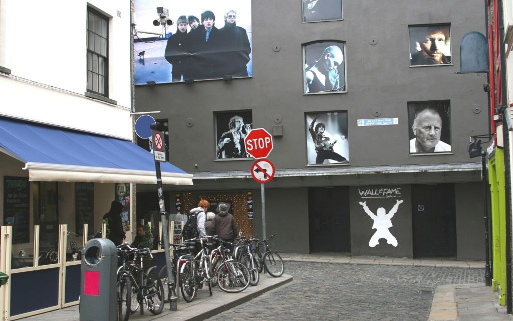 Where The Streets Have No Name: Dublin's U2 Wall