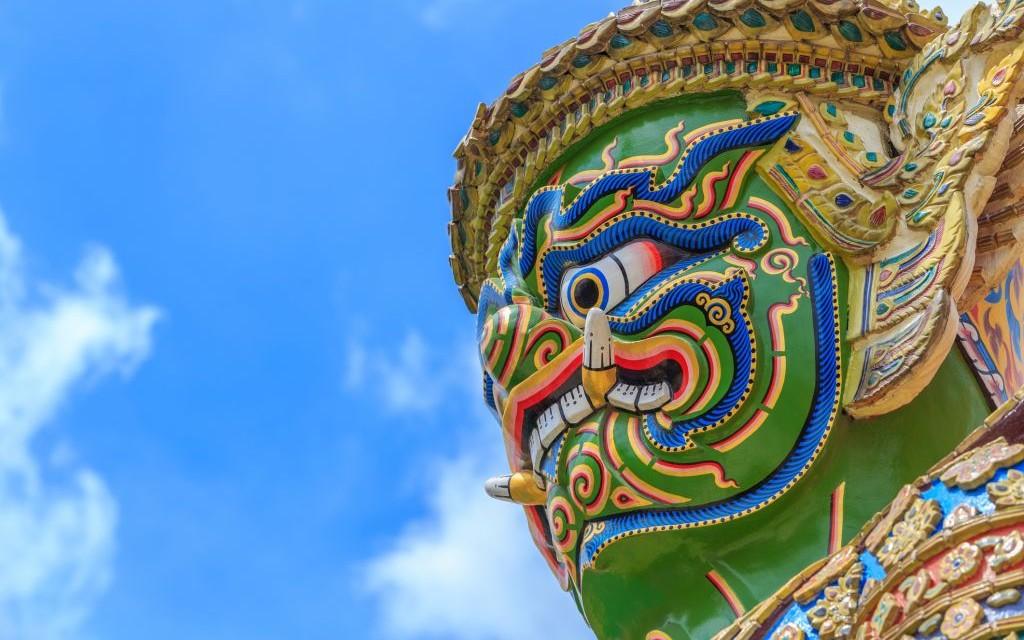 Wat Phra Kaew, The Temple of the Emerald Buddha, Bangkok, Thailand © Mr.siwabud Veerapaisarn | Dreamstime 59115161