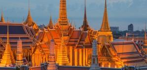 Wat Phra Kaew, The Temple of the Emerald Buddha, Bangkok, Thailand © Prasit Rodphan | Dreamstime 45182567