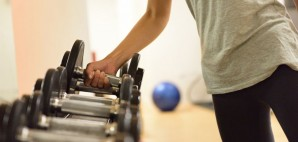 gym weights © Martinmark | Dreamstime 53802976