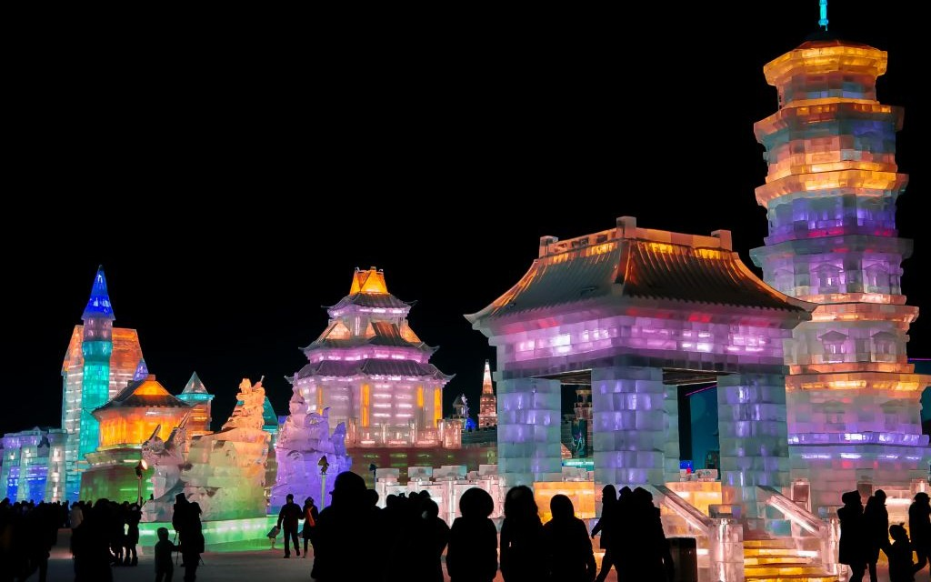 Harbin Ice Festival, China © Likefermat | Dreamstime