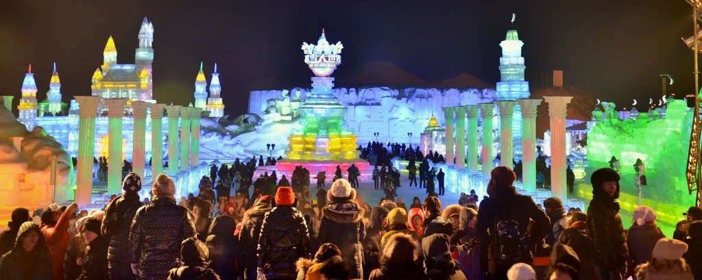 Harbin International Ice & Snow Festival, China © Fei Han | Dreamstime 47851365