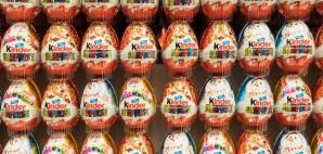 Kinder Eggs © Radub85 | Dreamstime 47689198