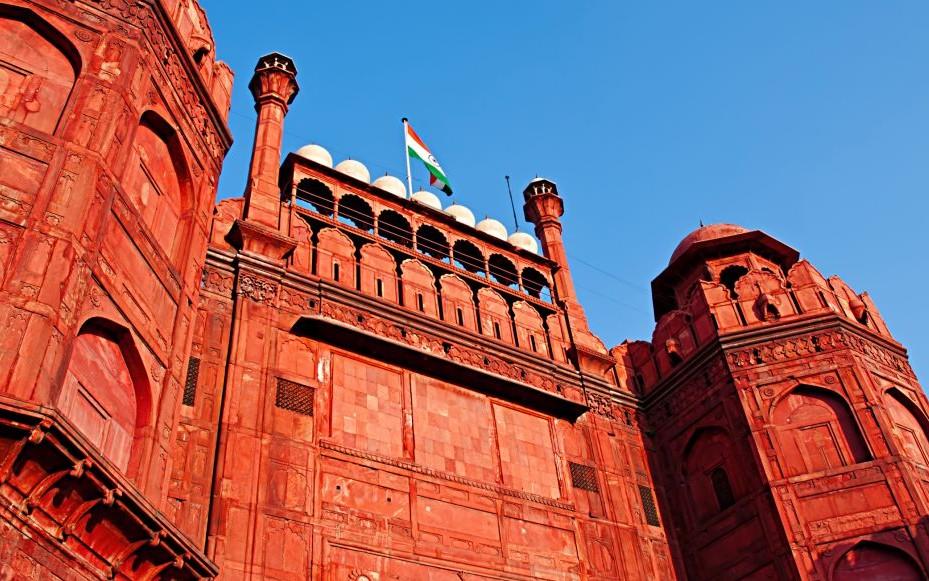 Lal Qila, Red Fort, Old Delhi, India © Elenatur   Dreamstime 53502874