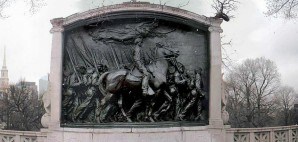Robert Gould Shaw and the 54th Massachusetts Regiment Memorial, Boston © Ron | Flickr